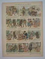 IMAGERIE QUANTIN - LA BELLE ET LA BETE - Georges GRELLET  - Circa 1905 - Vieux Papiers
