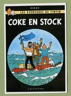 "HERGE  :  "" COKE EN STOCK ""  Edition ARNO 1981 - Bandes Dessinées"