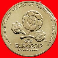 Ukraine 1 Hryvnia 2012. European Football Championship - Ukraine