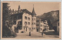 Films-Waldhaus - Post Und Hotel Segnes, Animee - Photo: Wehrli - GR Grisons
