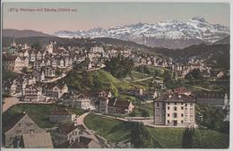 Herisau Mit Säntis - Photoglob - AR Appenzell Rhodes-Extérieures