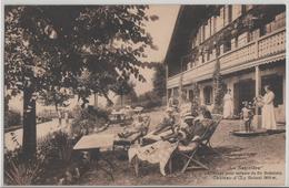 Chateau D'Oex - La Sapiniere Clinique Pour Enfants Du Dr. Brüstlein - Photo: Arts Graphiques - VD Vaud