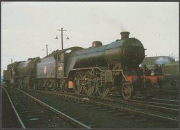 British Railways Gresley V4 Class 2-4-2 No 61701 Bantam Hen - Loco 100 Postcard - Trains