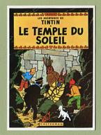 """HERGE  :  """" LE TEMPLE DU SOLEIL """"  Edition ARNO 1981 - Bandes Dessinées"""