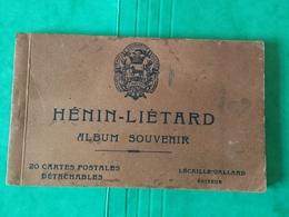 62 HENIN-LIETARD / Carnet 17 Cartes, Manque N°1, 17, 20 - France