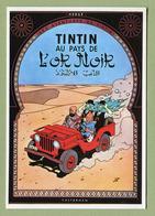 """HERGE  :  """" TINTIN AU PAYS DE L'OR NOIR """"  Edition ARNO 1981 - Comics"""