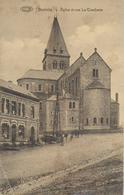 BERTRIX ..-- Eglise Vue De Dos . Vers JAMBES . Voir Verso . - Bertrix