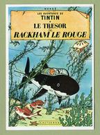 """HERGE  :  """" LE TRESOR DE RACKHAM LE ROUGE """"  Edition ARNO 1981 - Bandes Dessinées"""