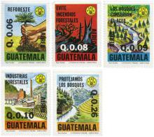 Ref. 180118 * NEW *  - GUATEMALA . 1979. PROTECTION OF THE FOREST. PROTECCION DEL BOSQUE - Guatemala