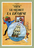 """HERGE  :  """" LE SECRET DE LA LICORNE """"  Edition ARNO 1981 - Bandes Dessinées"""