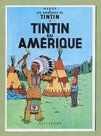 "HERGE  :  "" TINTIN EN AMERIQUE ""  Edition ARNO 1981 - Bandes Dessinées"