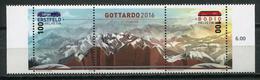 Switzerland 2016 Suiza / Geology Mountains Nature MNH Geología Montañas Naturaleza / Cu8025  41 - Geología
