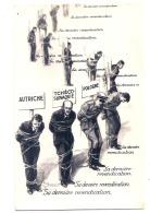 ***  Illustrateur - PROPAGANDE ANTI NAZIS - Sa Derniere Revendication  - Excellent état - - Guerre 1939-45