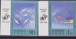 ONU 1998 Diritti Dell'uomo  Emissione Congiunta Italia Joint Issue - Emissioni Congiunte