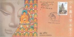 India 2018  Buddhism  Lord Buddha  Buddha Punima  GORAKHPUR  Special Cover   # 13123  D Inde  Indien - Buddhism