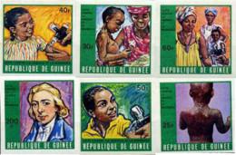 Ref. 14536 * NEW *  - GUINEA . 1970. FIGHTING SMALLPOX AND MEASLES. LUCHA CONTRA LA VARICELA Y EL SARAMPION - Guinea (1958-...)