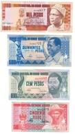 Guinea Bissau Lot Set 4 Banknotes UNC .C2. - Guinea-Bissau