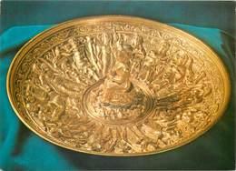 D1357 Bucuresti Bucharest History Museum Patera Bearing A Figural Relief Pietroasa Treasure - Roemenië