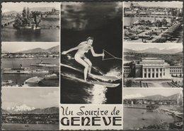 Multivues, Un Sourire De Genève, 1956 - Sartori Photo CPSM - GE Geneva