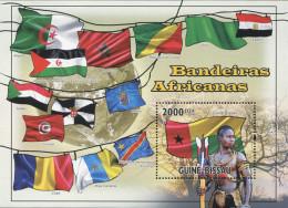 Ref. 572926 * NEW *  - GUINEA BISSAU . 2010. BANDERAS AFRICANAS - Guinea-Bissau