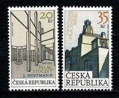 Tsjechië 2007 - Yv. 464/65**, Mi 508/09** MNH - Neufs