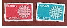 FRANCIA  (FRANCE)      -  SG 1874.1875  -  1970  EUROPA (COMPLET SET OF 2)         - MINT ** - Nuovi