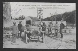 Chaconin , Près De Meaux - Colonel D'Etat Major Entouré D'ambulanciers................... - Guerra 1914-18