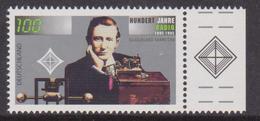 1995 Germania Radio Marconi G. P. II Emissione Congiunta Italia Joint Issue - Emissioni Congiunte