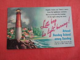 Christianity > Let's Keep His Light Burning Sunday  School >    Ref 3005 - Christianity