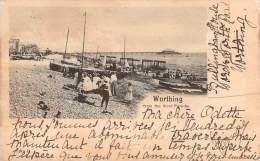 UK - Worthing - From The West Parade (1900) - Worthing