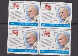 Vaticano 1998 Emissione Congiunta RSM / VAT Joint Issue MNH Giovani Paolo II - Emissioni Congiunte
