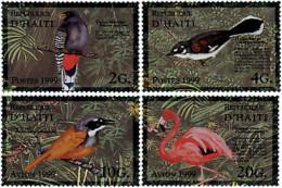 Ref. 43965 * NEW *  - HAITI . 1999. BIRDS. AVES - Haiti