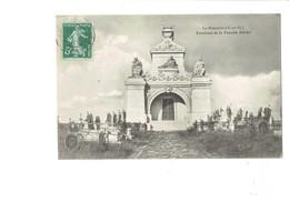 Cpa - 78 - La Boissière - Tombeau De La Famille Hériot - Statue Vierge Allaite Bébé ? - 1908 - France
