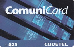TARJETA DE REPUBLICA DOMINICANA DE COMUNICARD DE CODETEL $25 - Dominicaanse Republiek