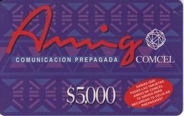 TARJETA DE COLOMBIA DE AMIGO DE COMCELDE $5000 (esquina Mordida) - Colombia