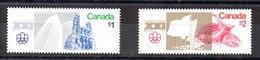 Serie De Canadá Nº Yvert 598/99 (**) - 1952-.... Règne D'Elizabeth II