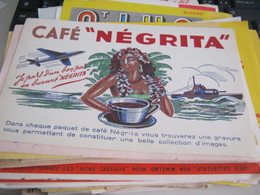 BUVARD PUBBLICITARIA CAFE' NEGRITA - Coffee & Tea