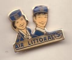 Pin's Air Litoral Compagnie Aerienne - Aerei
