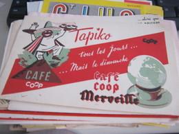 BUVARD PUBBLICITARIA CAFE' COOP MERVEILLE - Coffee & Tea