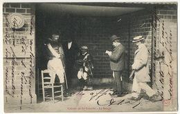 Courses De La Guerche Sept 1905 Cher Le Pesage Du Jockey Cachet Train Vierzon Nevers Vers Celon Indre - Hippisme