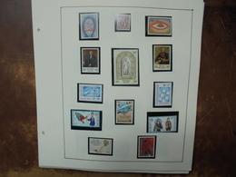BELGIQUE NEUVE 1981-1995 SUR FEUILLES (1 KILO) - Collections