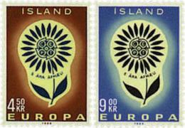 Ref. 97457 * NEW *  - ICELAND . 1964. EUROPA CEPT. DAISY WITH 22 PETALS. EUROPA CEPT. MARGARITA CON 22 PETALOS - 1944-... Republic