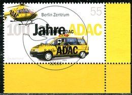 A12-26-4) BRD - Mi 2340 ECKE REU - Zentrisch OO Gestempelt (D) - 55C  100 Jahre ADAC - Gebraucht