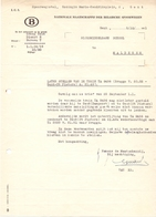 Factuur Facture Brief - NMBS - Gent - Spoorwegen Trein - 1951 - Transport