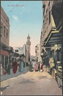 Rue Arabe, Le Caire, C.1905-10 - Lichtenstern & Harrari CPA - Cairo