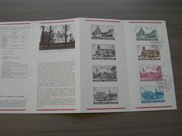 BELG.1973 1662-65 Folder FR Avec Oblitéré Premier Jour - 1971-80