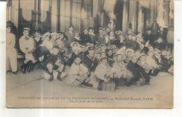 Colonies De Vacances De La Chaussée Du Maine, 41 Boulevard Raspail, Paris, Sur Le Quai De La Gare - Arrondissement: 07