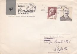 BUSTA VIAGGIATA - JUGOSLAVIA - BIROZA POSTANSKE MARKE - DESTINAZIONE - RAPALLO ( ITALIA ) 1971 - 1945-1992 Repubblica Socialista Federale Di Jugoslavia
