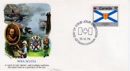 CANADA - 1979 Canada Day - Flags   FDC5306 - First Day Covers