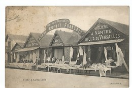 NANTES , FOIRE D' AVRIL 1908 - Nantes